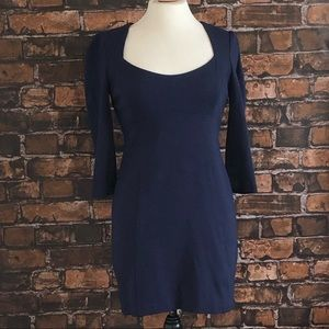 Laundry Navy Blue Mini Dress
